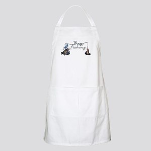 Bass Fishing BBQ Apron