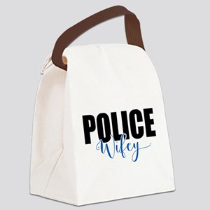Police Wifey Canvas Lunch Bag