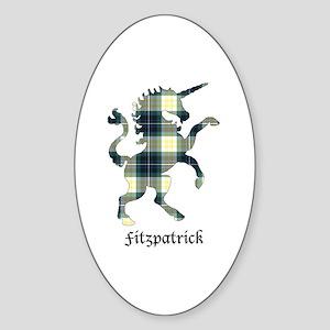 Unicorn - Fitzpatrick Sticker (Oval)