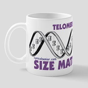 Telomere Size Matters Mug