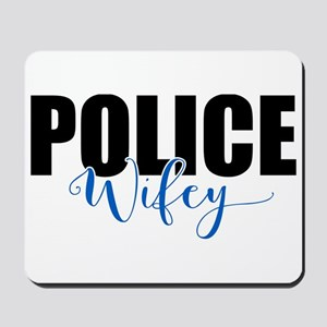 Police Wifey Mousepad
