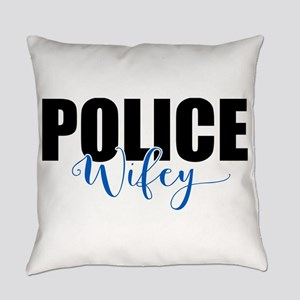 Police Wifey Everyday Pillow
