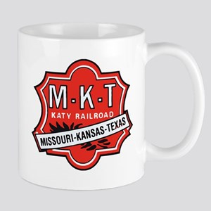 Missouri Kansas Texas Railroad logo Mugs