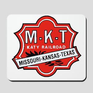 Missouri Kansas Texas Railroad logo Mousepad