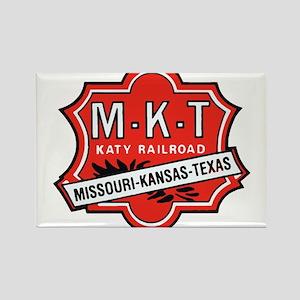Missouri Kansas Texas Railroad logo Magnets