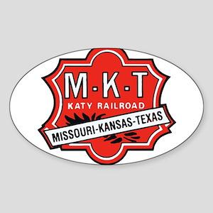 Missouri Kansas Texas Railroad logo Sticker