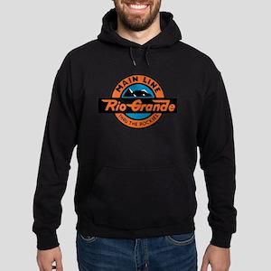 Rio Grande Railway logo 2 Hoodie (dark)