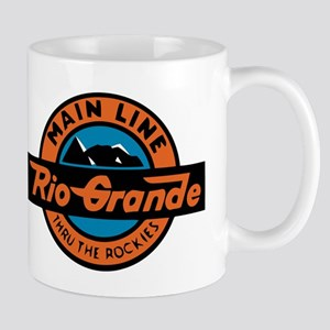 Rio Grande Railway logo 2 Mugs