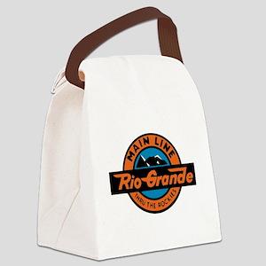 Rio Grande Railway logo 2 Canvas Lunch Bag