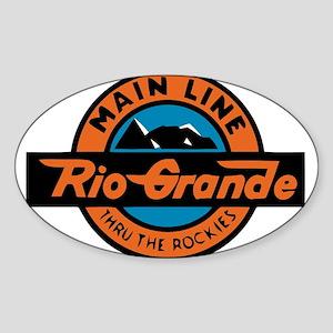 Rio Grande Railway logo 2 Sticker