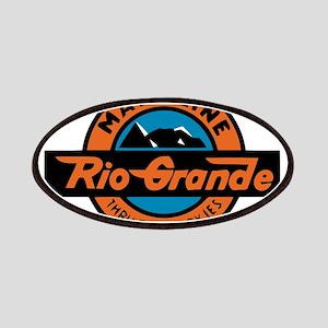Rio Grande Railway logo 2 Patch