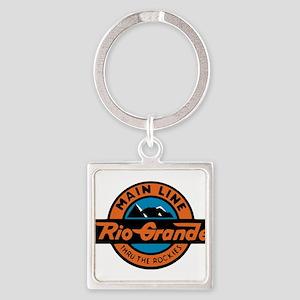 Rio Grande Railway logo 2 Keychains