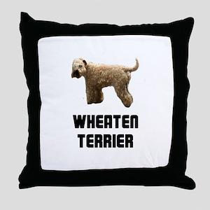Wheaten Terrier Throw Pillow