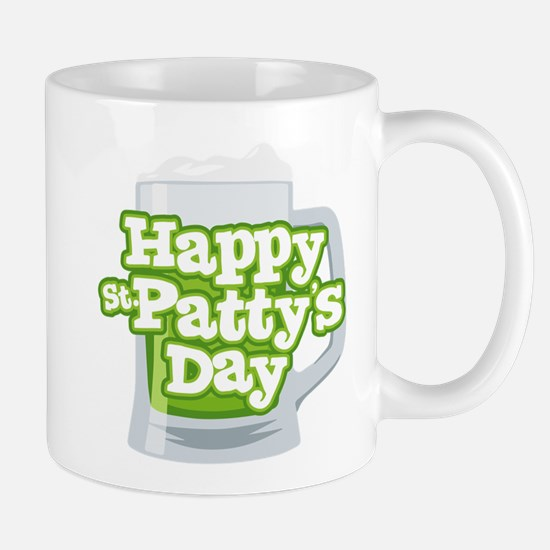 St Patty's Green Beer Mug