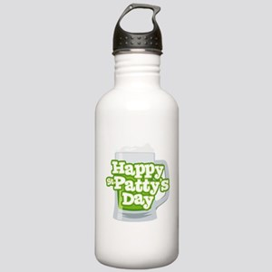 St Patty's Green Beer Stainless Water Bottle 1.0L