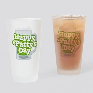 St Patty's Green Beer Drinking Glass