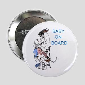 On Board Great Dane Button
