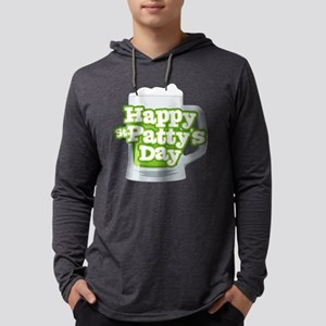 St Patty's Green Beer Mens Hooded Shirt