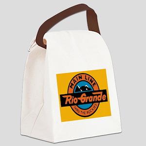 Rio Grande Railway logo 1 Canvas Lunch Bag