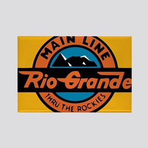 Rio Grande Railway logo 1 Magnets