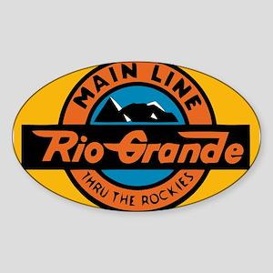 Rio Grande Railway logo 1 Sticker