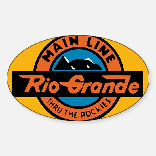 Rio Grande Railway logo 1 Decal