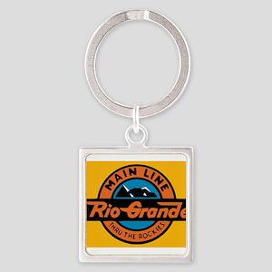 Rio Grande Railway logo 1 Keychains