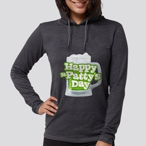 St Patty's Green Beer Womens Hooded Shirt