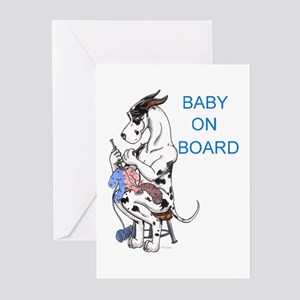 On Board Great Dane Cards (10p)