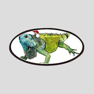 Santa Iguana Patch