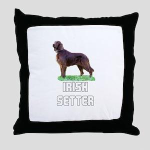 Irish Setter Throw Pillow