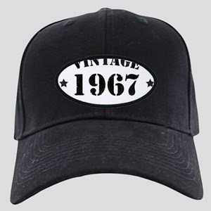 Vintage Aged to Perfection 19 Black Cap with Patch