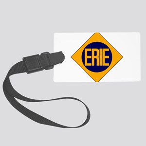 Erie Railway logo 2 Large Luggage Tag