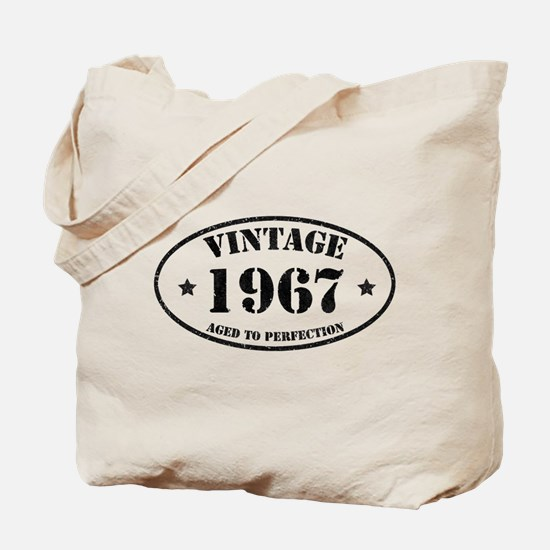 Vintage Aged to Perfection 1967 Tote Bag