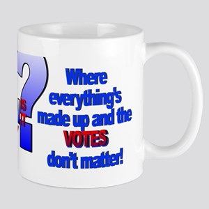 Whose election is it anyway? Mugs
