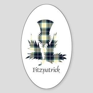 Thistle - Fitzpatrick Sticker (Oval)