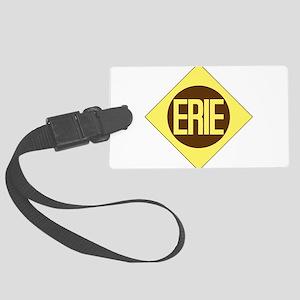 Erie Railway logo 1 Large Luggage Tag