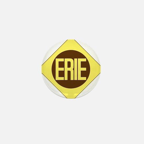 Erie Railway logo 1 Mini Button