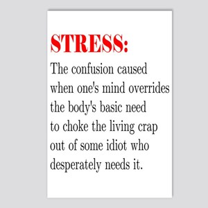 Stress Postcards (Package of 8)
