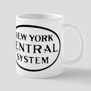 New York Central System Railroad logo4 Mugs
