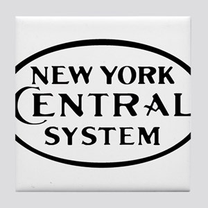 New York Central System Railroad logo Tile Coaster