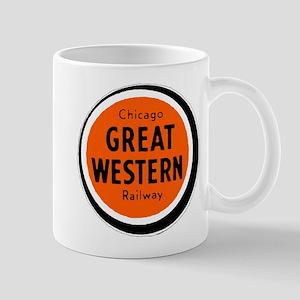 Chicago Great Western Railway logo 2 Mugs