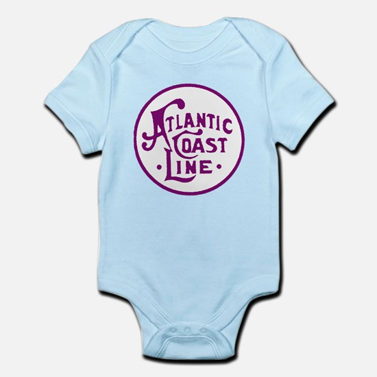 Atlantic Coast Line railroad logo 2 Body Suit