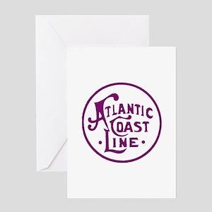 Atlantic Coast Line railroad logo 2 Greeting Cards