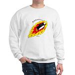 Flaming Flying Penguin Sweatshirt