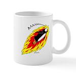 Flaming Flying Penguin Mug