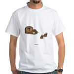 Sea Otter White T-Shirt