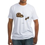 Sea Otter Fitted T-Shirt