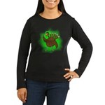 Gamma Infused Tur Women's Long Sleeve Dark T-Shirt