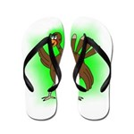 Gamma Infused Turkey Flip Flops